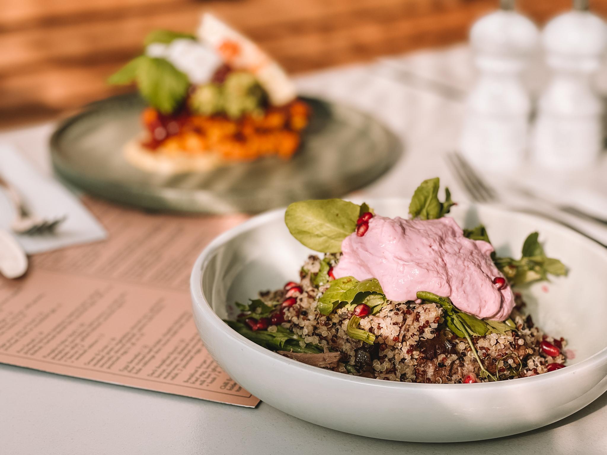 Grain Lamb Salad